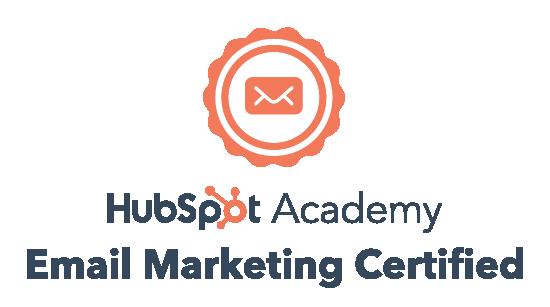 Hubspot Email Marketing Certification Logo
